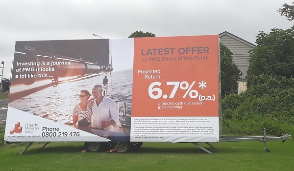 Outdoor Billboard Advertising | Portable Outdoor Signage